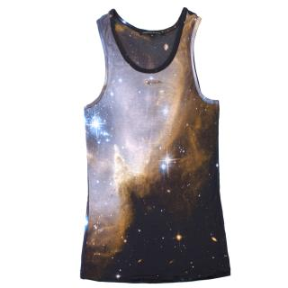 Christopher Kane Galaxy Print Tank Top
