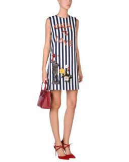 Dolce & Gabbana Italia is Love striped dress