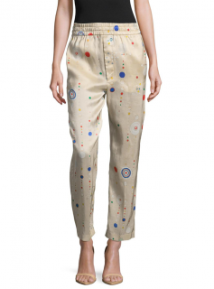 Isabel Marant Oya Printed Silk Pants