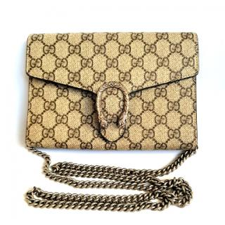 8420efa4f54 Gucci Dionysus GG Supreme chain wallet - Permanent Collection