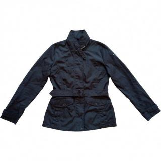 Woolrich black classic trench jacket