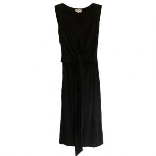 Max Mara Knot Waist Black Dress