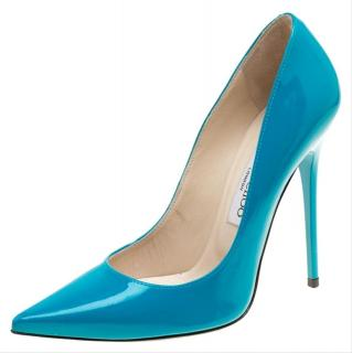 Jimmy Choo Patent Leather Anouk Pumps