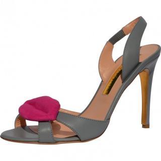 Rupert Sanderson Frisia Grey Sandals