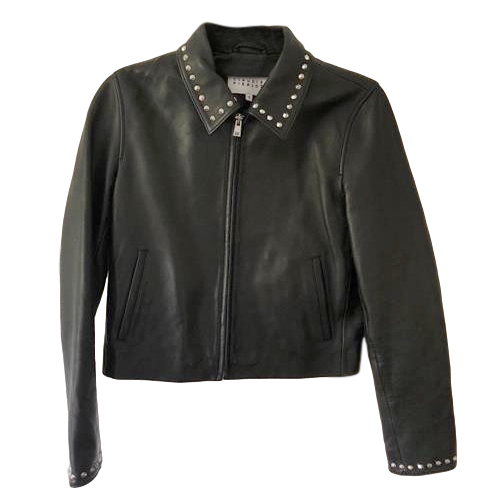 Claudie Pierlot Celso Black Biker Jacket