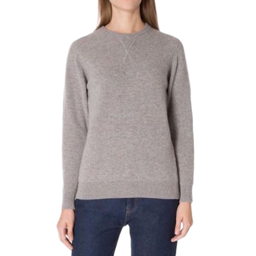 Sunspel Marble-Grey Cashmere Sweater