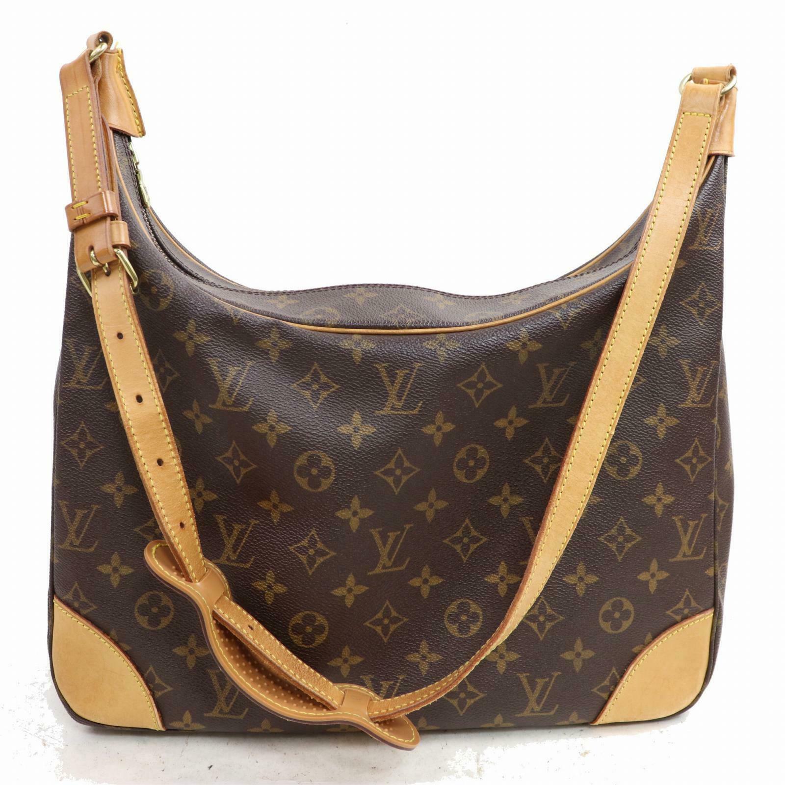 401157b5b2fb Louis Vuitton Boulogne 30 Monogram Shoulder Bag 1