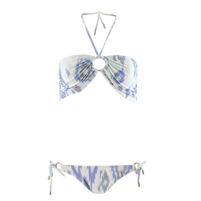 Melissa Odabash Printed Bandeau Bikini