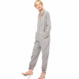 M.I.H. Jeans Grey Long Jumpsuit