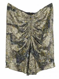 Isabel Marant Draped Ochre Skirt