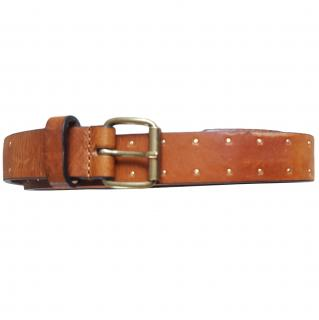 Gerard Darel Tan Studded Belt