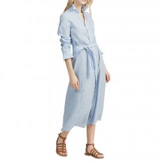 Polo Ralph Lauren Candy Stripe Polo Midi Dress