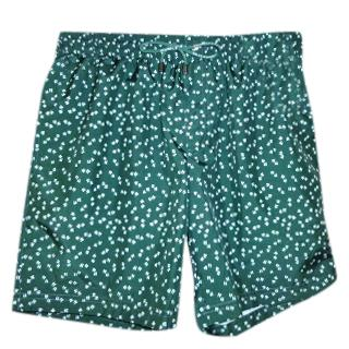 Dolce & Gabbana Quotation Marks Print Swim Shorts