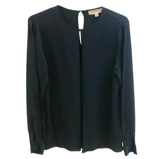 Michael Michael Kors Silk Black Top