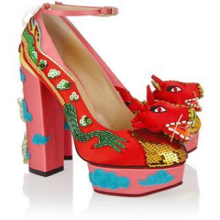 Charlotte Olympia 'Unleash the Dragon' pumps