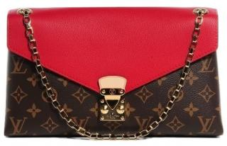 Louis Vuitton Canvas Pallas Chain shoulder bag