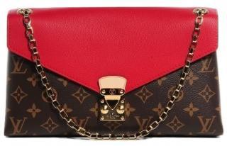 Louis Vuitton Canvas Pallas Chain shoulder bag