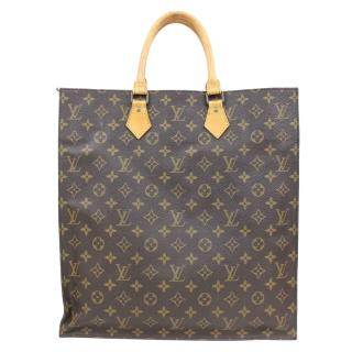 Louis Vuitton Monogram Sac Plat Tote Bag