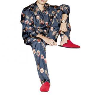 Dolce & Gabbana Men's Silk Pyjama Trousers
