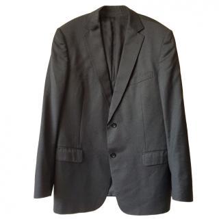 Ermenegildo Zegna Single-Breasted Grey Blazer