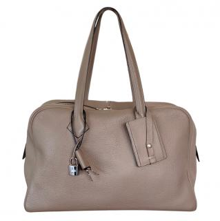 Hermes Gris Togo Leather Victoria II