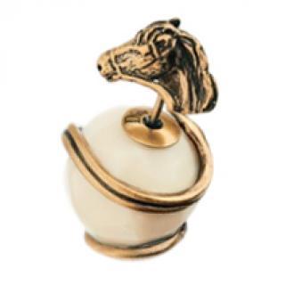 Dior Horse Tribal Stud Earrings