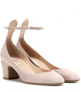 Valentino Tan-go Mary Jane Suede Pumps