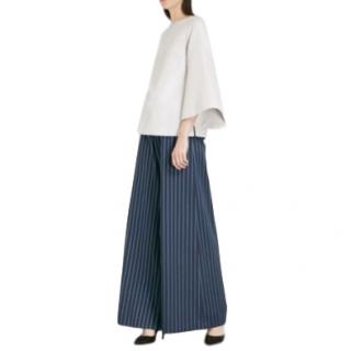 Osman 'Paloma' Striped Wide Leg Trousers