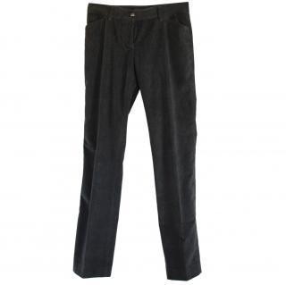 Dolce & Gabbana Slim fit Velvet Pants