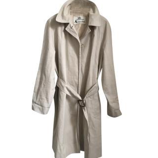 Aquascutum Belted Beige Trench Coat