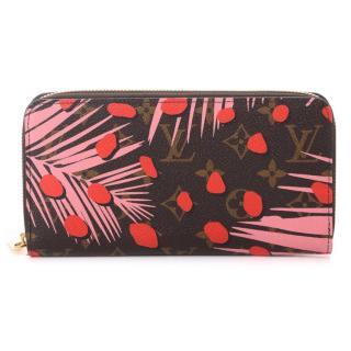 Louis Vuitton Monogram Zippy Jungle Dots Wallet