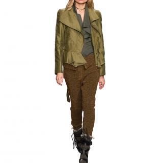 Isabel Marant Runway Tie-Waist Jacket