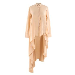 Palmer/Harding Peach Asymmetric Shirt