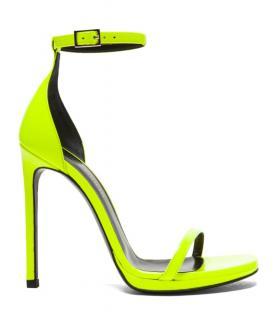 Saint Laurent Jane Neon Sandals