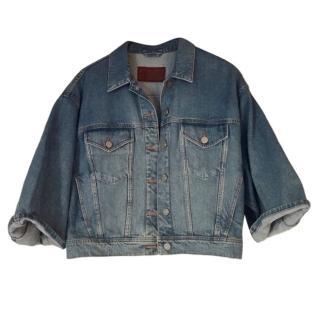 Acne Cropped Denim Jacket