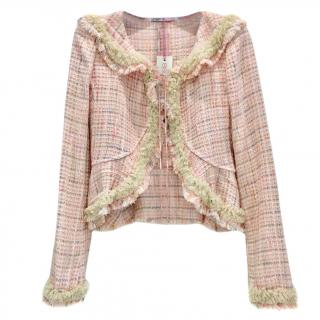 Ungaro Pink Lesage Tweed Jacket