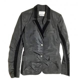 Yves Saint Laurent Velvet-Trimmed Blazer