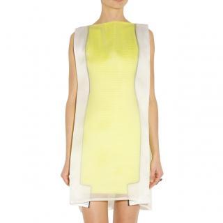Chalayan Pop Lemon Double Layer Mini Frame Dress