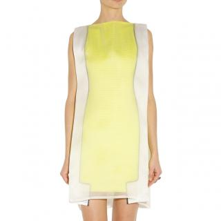 Chalayan Pop Lemon Double Layer Mini Frame Dress