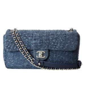 Chanel Timeless Classic Denim Single Flap Bag