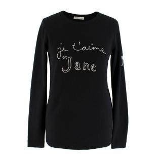 Bella Freud 'Je t'aime Jane' Wool Sweater