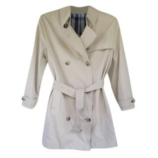 Burberry Vintage Belted Trench
