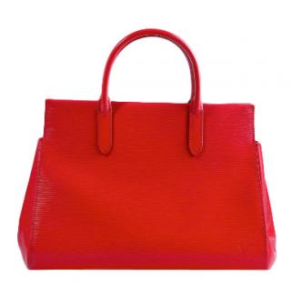 Louis Vuitton Red Epi Leather Marly BB Bag