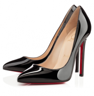 e00a7fd32f2d Christian Louboutin Pigalle 120 Black Patent Leather