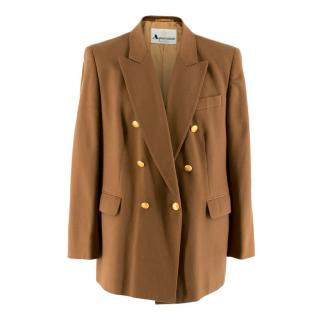 Aquascutum Men's Cashmere Double Breasted Blazer