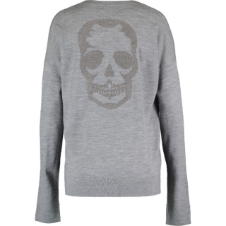 Zadig & Voltaire Merino Wool Skull Jumper