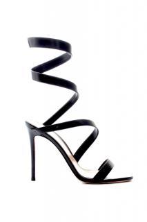 Gianvito Rossi Opera 105 Black Sandals