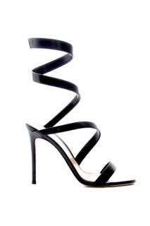 Gianvito Rossi Opera 105 Black Sandals