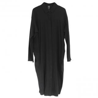 Zero+Maria Cornejo Black Shirt Dress