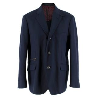 Corneliani Men's Navy Blazer
